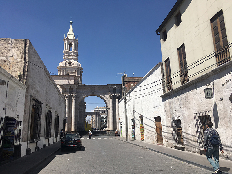 Arequipa historic buildings